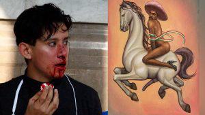 Confrontaciones, indignación y críticas por el cuadro feminizado de Emiliano Zapata