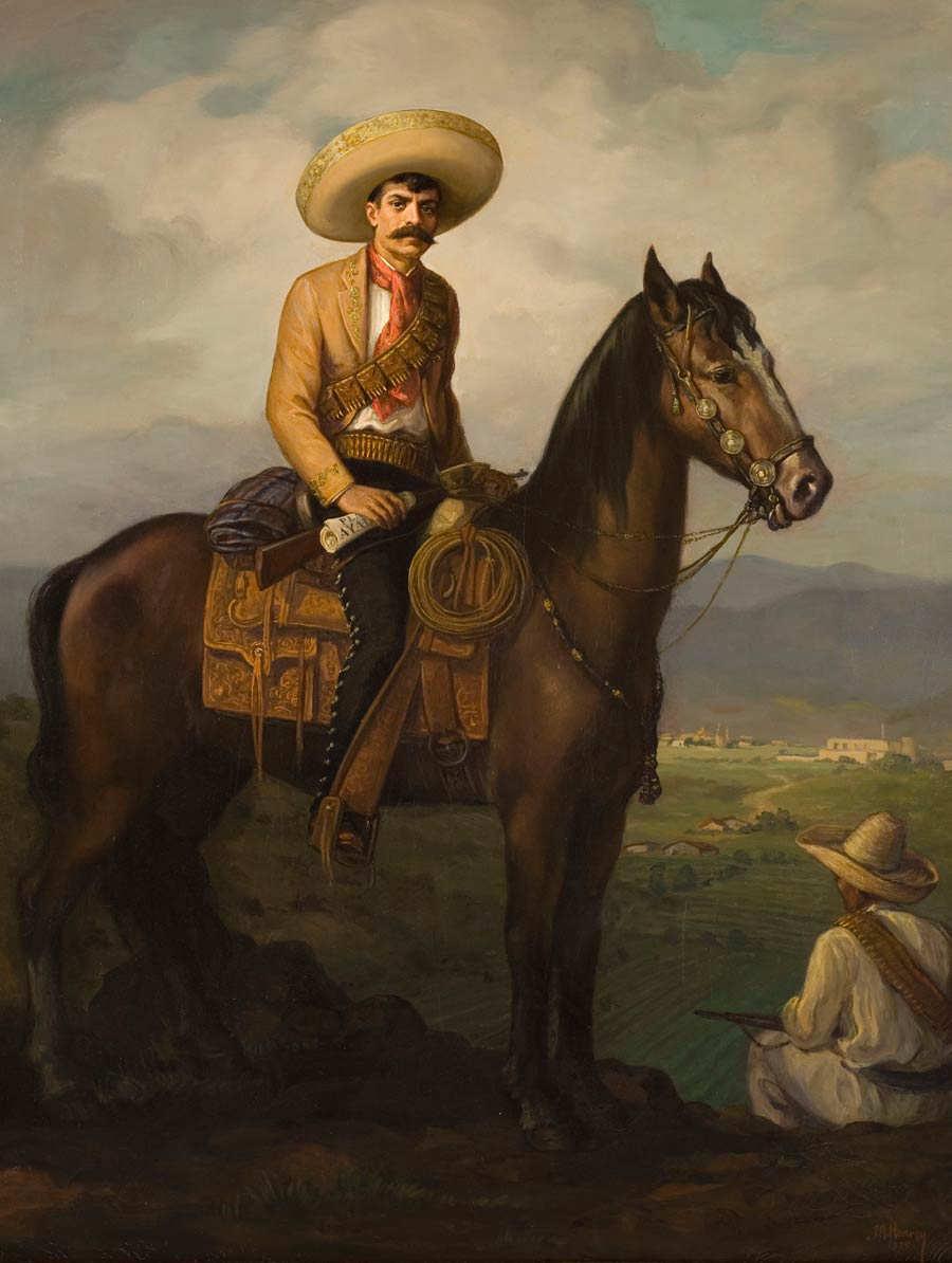 Emiliano-Zapata-a-caballo