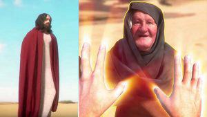 El nuevo videojuego donde eres Jesucristo y debes hacer milagros para pasar de nivel