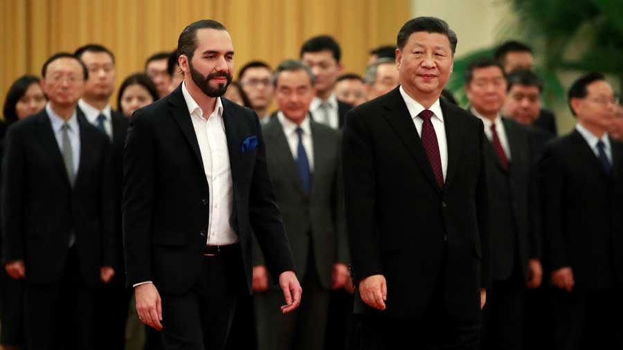 Salvadorian President Nayib Bukele visits China