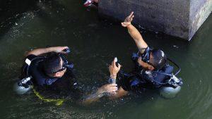 ANDA ingresa buzos de la Fuerza Naval a tanques de captación de agua del área metropolitana