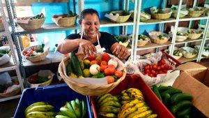 Los rostros de las mujeres detrás de las canastas campesinas de Comasagua