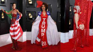 Los 'looks' más impresionantes de la gala de los Premios Grammy 2020