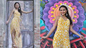 Conoce a Marina Nicole, la nueva reina de las fiestas patronales de Sonsonate