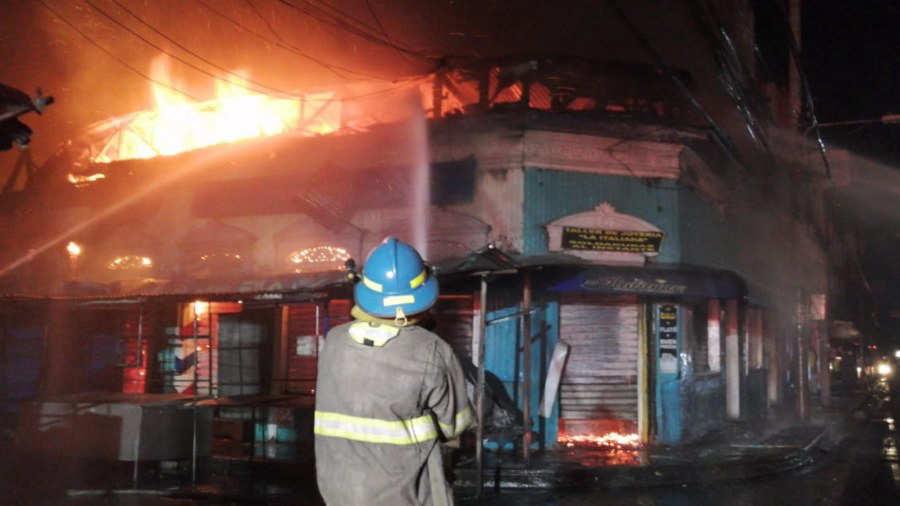 Incendio centro