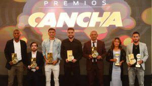 Lo mejor del fútbol salvadoreño fue premiado en la primera edición de los Premios Cancha