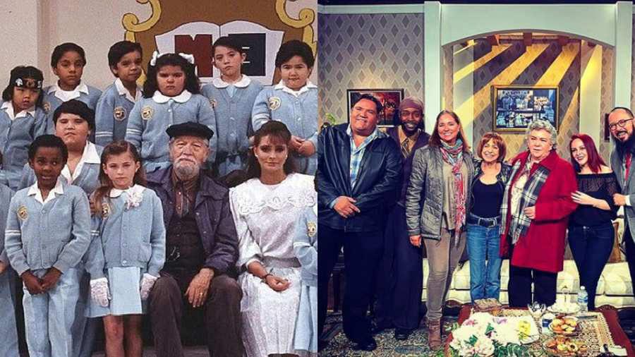 30 años después: Elenco de