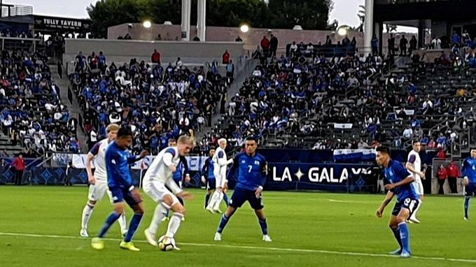 19-1-2020 - Juego de entrenamiento El Salvador 0 Islandia 1. Selecta-islandia