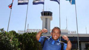 Herbert Aceituno viajó a Manchester con la ilusión de iniciar el camino Paralímpicos de Tokio 2020