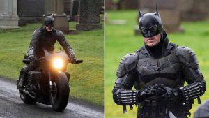 Filtran las primeras imágenes del traje completo de Batman de Robert Pattinson