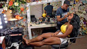 Así es la vida de Bianca Monteiro, una de las reinas del carnaval de Río de Janeiro
