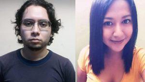 Las imágenes que vinculan a Henry Salazar con el asesinato de su novia embarazada