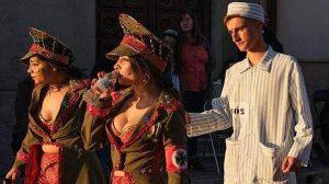 Carnaval en España causa indignación por dramatización del holocausto