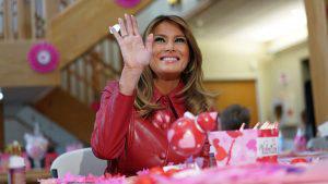 Así celebró Melania Trump el Día de San Valentín