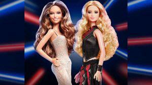 El emotivo homenaje de Barbie para Jennifer López y Shakira por la presentación en el Super Bowl