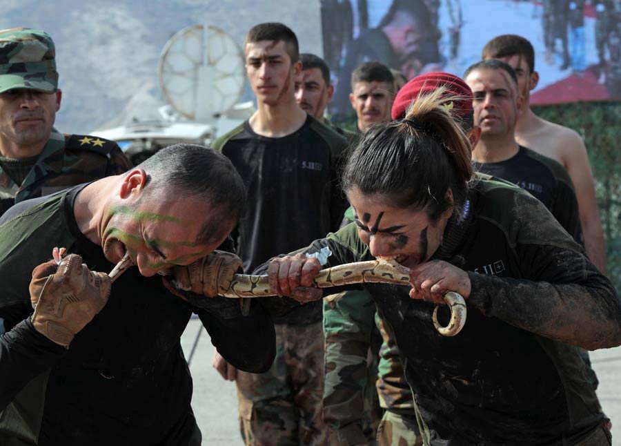 IRAQ-KURDS-PESHMERGA