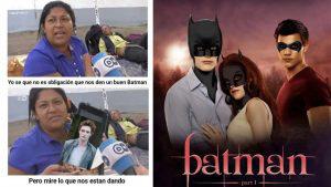 Robert Pattinson como Batman ha despertado los mejores memes