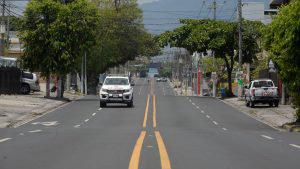 Así lucía San Salvador horas antes de que se aprobara un nuevo estado de excepción