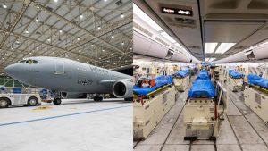 Conoce el avión hospital que Alemania envió a Italia para recoger a pacientes con coronavirus