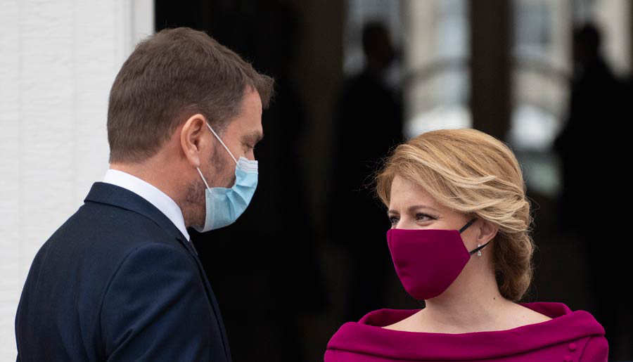 SLOVAKIA-POLITICS-GOVERNMENT-HEALTH-VIRUS