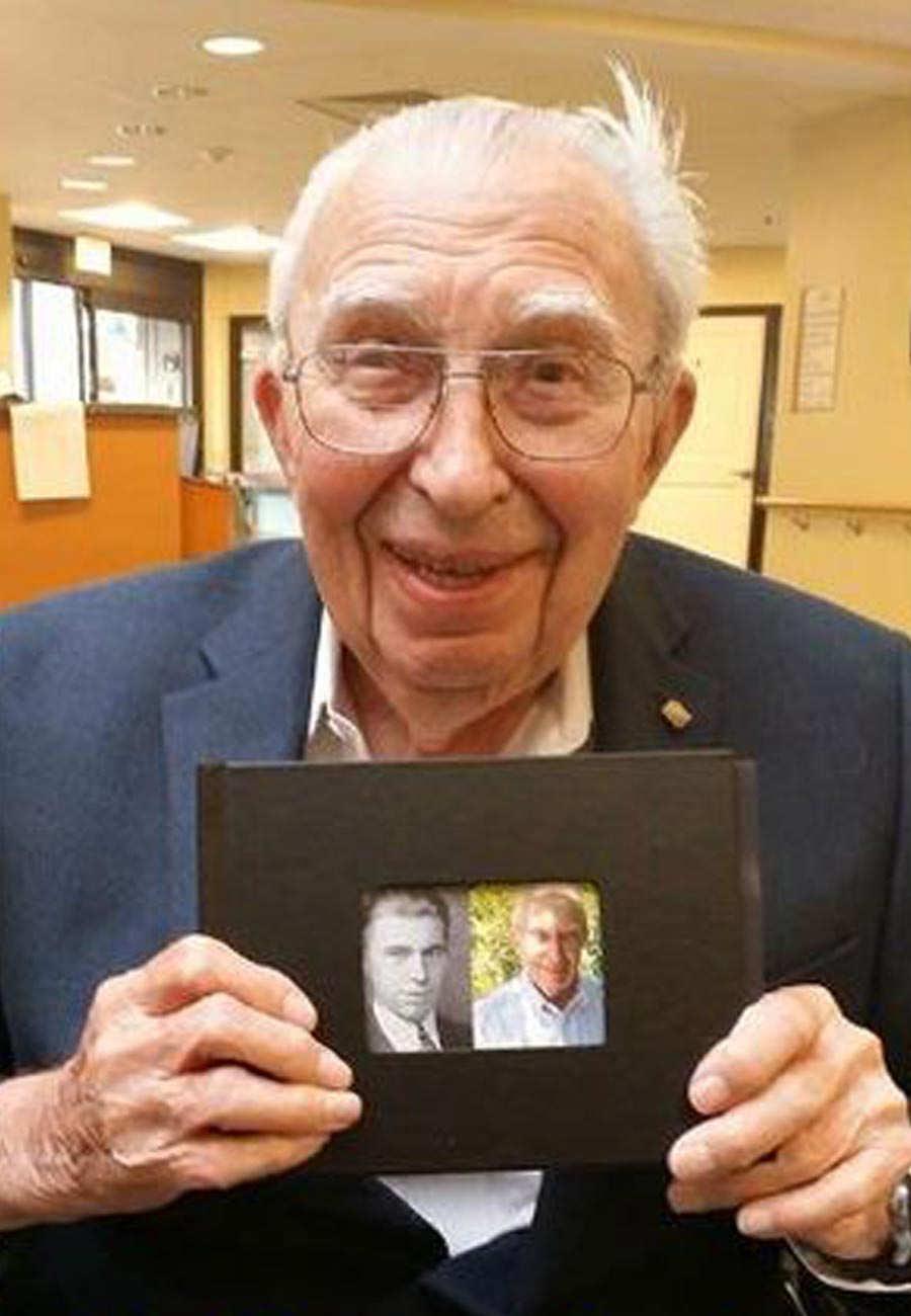 105-YEAR OLD SAN DIEGAN CELEBRATES BIRTHDAY