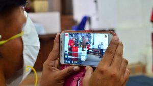 Un Domingo de Ramos histórico: Por Facebook Live y con la iglesia vacía en Panchimalco