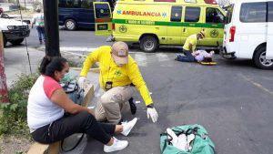 Cinco personas lesionadas en accidente sobre el bulevar del Ejército