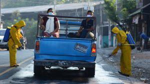 Santiago Texacuangos refuerza control sanitario tras un caso confirmado de COVID-19 en Santo Tomás