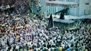 El año en que la guerra suspendió las actividades de Semana Santa en San Salvador