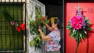 A pesar de la cuarentena, los salvadoreños viven con fervor el Domingo de Ramos desde sus casas