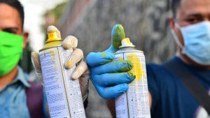 La creativa idea de dos jóvenes santanecos para prevenir el contagio de coronavirus