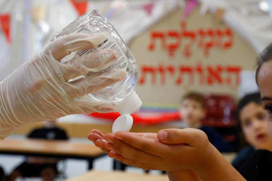 ISRAEL-EDUCATION-HEALTH-VIRUS-PANDEMIC