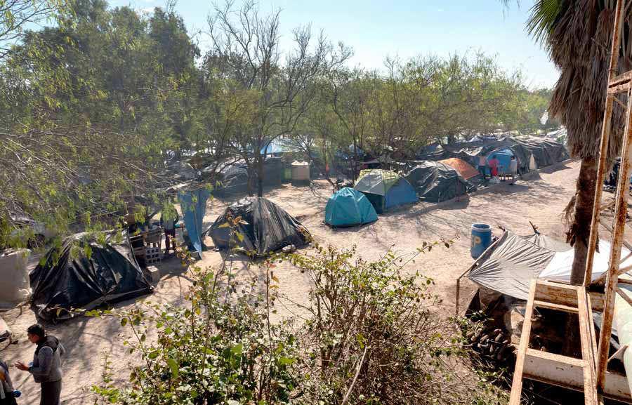 Migration crisis on US-Mexico border