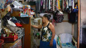 Doña Marta, la olvidada del barrio Zurita, sin bono y canasta de alimentos