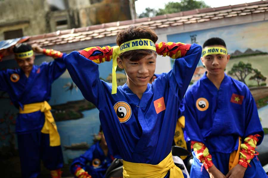 VIETNAM-MARTIAL ARTS-CULTURE