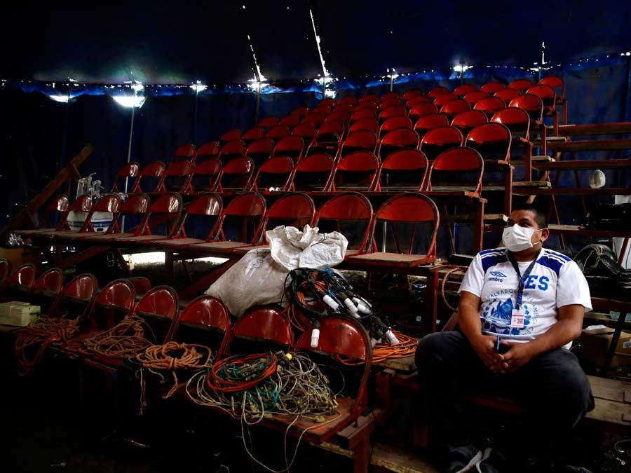 La resurrecciÛn del circo, artistas salvadoreÒos piensan en la etapa poscovid