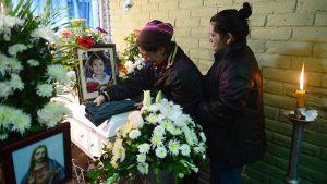 Familia llora a menor de 6 años y a su tío que fallecieron al ser arrastrados por un alud en La Libertad