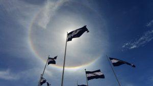 ¿Qué significa el halo solar que sorprendió a los salvadoreños este domingo?