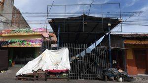 Primer día de cierre de mercados en Soyapango para frenar los contagios de COVID-19