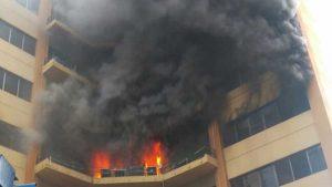El día en que el Ministerio de Hacienda ardió en llamas y cobró la vida de cuatro personas
