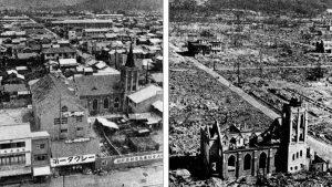 FOTOS: El día que Hiroshima fue destruida por la explosión de la bomba atómica