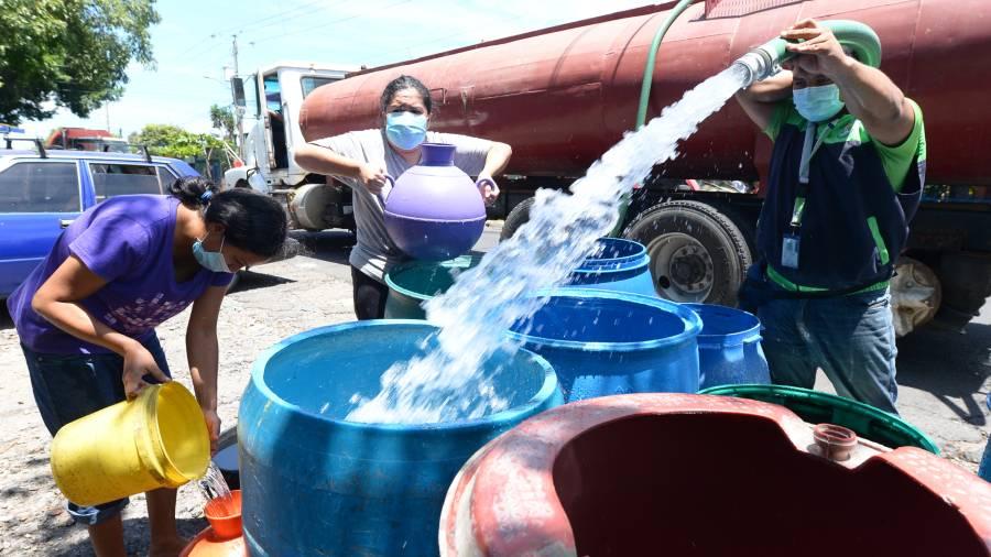 Falta Agua 29 JR
