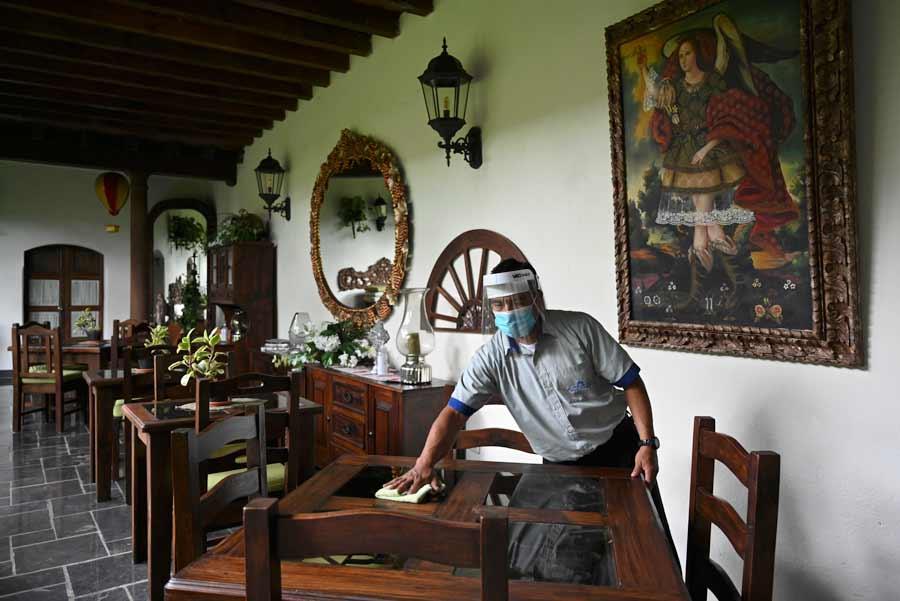 GUATEMALA-HEALTH-VIRUS-TOURISM