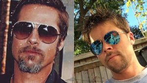 El albañil que aprovechó su parecido con Brad Pitt para llegar a ser influencer