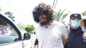 FOTOS: Indigente en audiencia inicial tras ser acusado de agredir a joven en Antiguo Cuscatlán