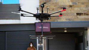 FOTOS: 25 drones repartirán productos en varias partes de El Salvador, ¿qué empresa innova con esta idea?