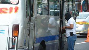 Motorista de microbús de la ruta 11 es asesinado frente a pasajeros