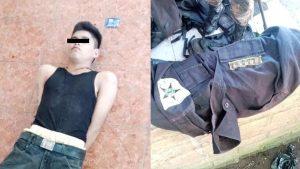 Sujeto que tenía varios uniformes policiales fue capturado en La Libertad