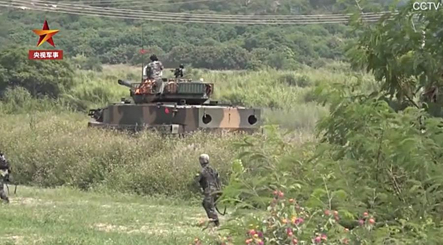 Ejercicios militares China_10