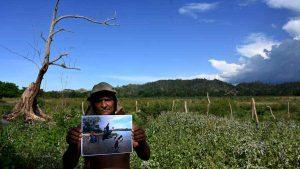 Lagunas se secan por mano del hombre y cambio climático en Honduras